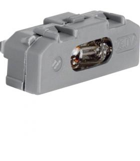 Akcesoria osprzęt Wkładka jarzeniowa, mechanizm, szary Berker 160002