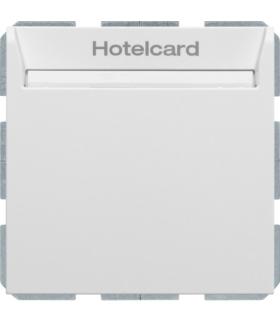 B.3/B.7 Łącznik przekaźnikowy na kartę hotelową, biały, mat Berker 16409909