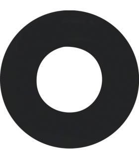 R.1/R.3 Płytka czołowa do łącznika i sygnalizatora świetlnego E10, czarny Berker 11242045