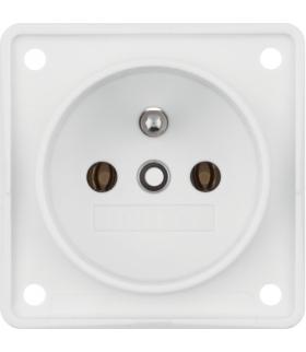 Integro Flow Gniazdo z uziemieniem, biały, mat Berker 961852502