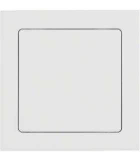 Q.3 System przywoławczy Zasilacz 24V z ramką, biały aksamit Berker 52046099