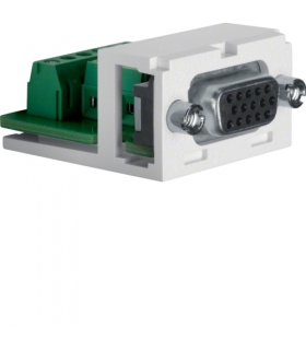 Akcesoria osprzęt Moduł VGA 15 pin, biały/czarny Berker 1994