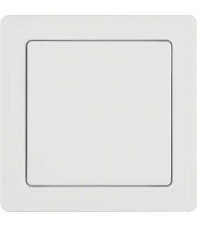 Q.1 System przywoławczy Zasilacz 24V z ramką, biały aksamit Berker 52046089