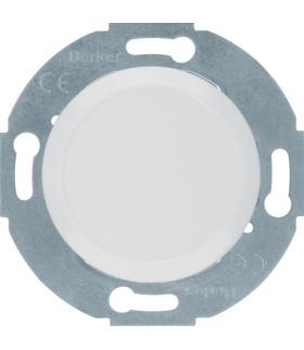 Serie 1930/Glas Zaślepka z elementem centralnym, biały Berker 67100920