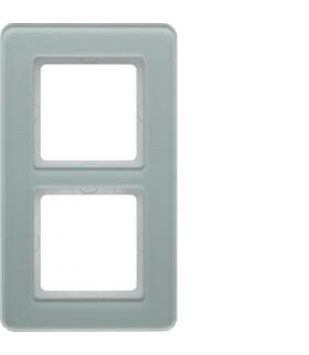 Q.7 Ramka 2-krotna, szkło, biały Berker 10126079