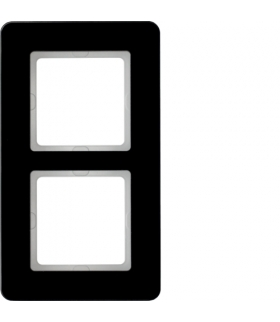 Q.7 Ramka 2-krotna, szkło, czarny Berker 10126076