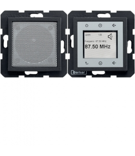 B.x/S.1 Radio Touch komplet, antracyt mat Berker 28801606