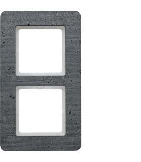 Q.7 Ramka 2-krotna, beton Berker 10126020
