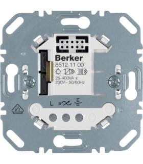 one.platform Elektroniczny sterownik załączający pojedynczy, mechanizm Berker.Net, zaciski śrubowe Berker 85121100