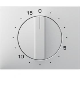K.1 Płytka czołowa z pokrętłem do mechanicznego łącznika czasowego 0-15 min, biały Berker 16347109