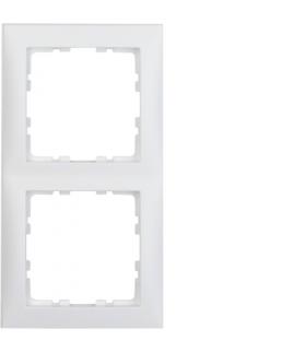 S.1 Ramka 2-krotna, biały, mat Berker 10129909