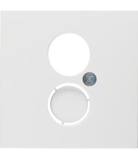 S.1/B.3/B.7 Płytka czołowa do gniazda głośnikowego i przyłączy miniaturowych, biały Berker 11961909