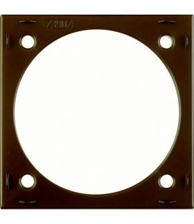 Integro Flow Natynkowy pierścień dystansowy, brązowy, połysk Berker 918252511