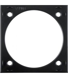 Integro Flow Natynkowy pierścień dystansowy, czarny, połysk Berker 918252510