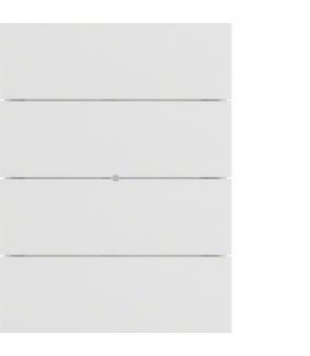 B.IQ Przycisk 4-krotny standard,  biały