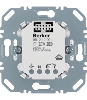 one.platform Przekaźnikowy sterownik załączający, mechanizm Berker.Net, zaciski śrubowe Berker 85121200