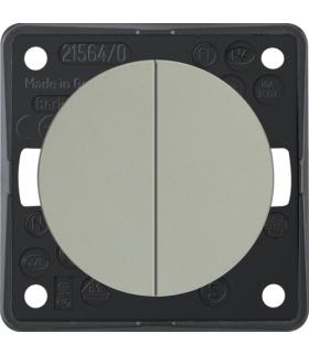 Integro Flow Łącznik wieloklawiszowy przyciskowy, chrom, mat lakierowany Berker 936752568