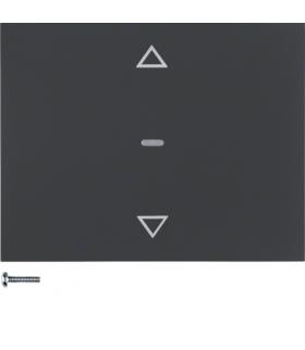 K.1 Przycisk żaluzjowy komfort do sterownika żaluzjowego Berker.Net, antracyt, mat Berker 85241175