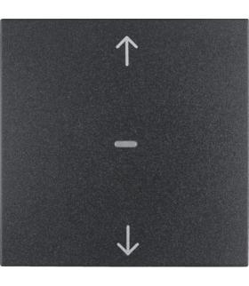 B.x/S.1 Przycisk żaluzjowy komfort do sterownika żaluzjowego Berker.Net, antracyt, mat Berker 85241185