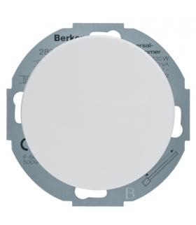 R.classic Ściemniacz uniwersalny z płynną regulacją i płytką czołową, biały Berker 28342089