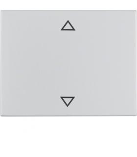 """K.5 Klawisz z nadrukiem symbolu """"strzałki"""" do łącznika 1-klawiszowego, alu Berker 14057103"""