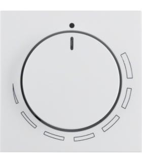 B.x/S.1 Płytka czołowa z pokrętłem regulacyjnym do regulatora obrotów, biały, połysk Berker 11378929