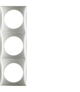 Integro Flow Ramka 3-krotna, chrom, mat Berker 918192568