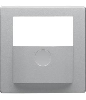 KNX e/s Q.x Płytka czołowa do modułu czujnika ruchu KNX,  alu aksamit,  lak.