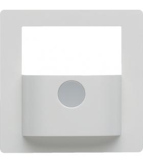 KNX e/s Q.x Płytka czołowa do modułu czujnika ruchu KNX,  biały,  aksamit