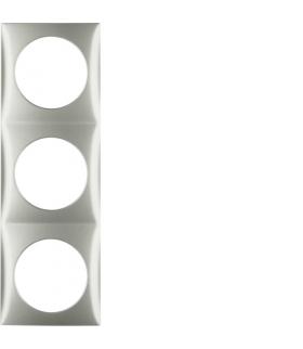 Integro Flow Ramka 3-krotna, stal szlachetna, lakierowany Berker 918192524