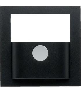 KNX e/s B.x Płytka czołowa do modułu czujnika ruchu KNX, antracyt mat, lak.