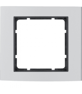 B.3 Ramka 1-krotna, alu/antracyt Berker 10113004