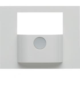 KNX e/s K.x Płytka czołowa do modułu czujnika ruchu KNX,  biały,  połysk