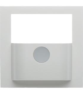 KNX e/s B.x Płytka czołowa do modułu czujnika ruchu KNX, biały, połysk