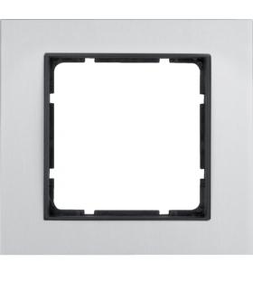 B.7 Ramka 1-krotna, alu/antracyt mat Berker 10116904