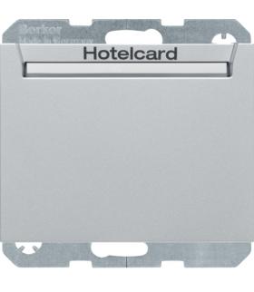K.5 Łącznik przekaźnikowy na kartę hotelową, aluminium lakierowany Berker 16417134