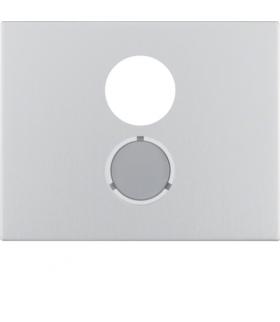 K.5 Płytka czołowa do gniazda głośnikowego, alu Berker 11847003