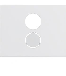 K.1 Płytka czołowa do gniazda głośnikowego, biały Berker 11847009