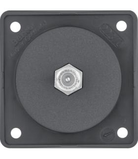 Integro Flow Gniazdo przyłączeniowe anteny SAT, antracyt, mat Berker 945192505