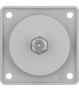 Integro Flow Gniazdo przyłączeniowe anteny SAT, szary, mat Berker 945192506