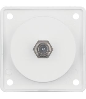 Integro Flow Gniazdo przyłączeniowe anteny SAT, biały, mat Berker 945192502