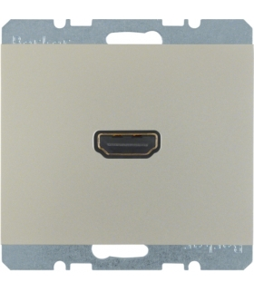K.5 Gniazdo HDMI, stal szlachetna, lakierowany Berker 3315427004