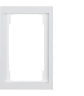 K.1 Ramka z dużym wycięciem, biały, połysk Berker 13097009