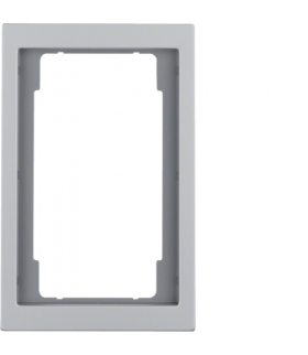 K.5 Ramka z dużym wycięciem, aluminium Berker 13097003