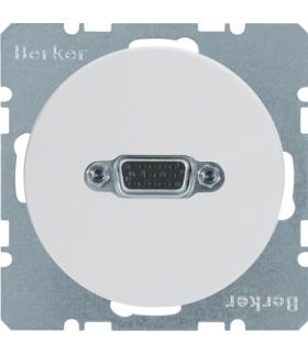 R.1/R.3 Gniazdo VGA biały, połysk Berker 3315402089