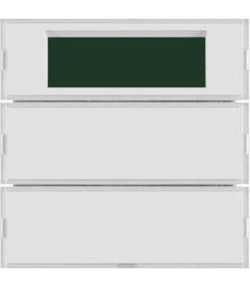 KNX system S.1/B.3/B.7 Przycisk 2-kr z reg. temp. i wyśw., do ram. biał. i krem.