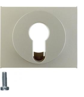 K.5 Płytka czołowa do łącznika na klucz, stal szlachetna, lakierowana Berker 15057004
