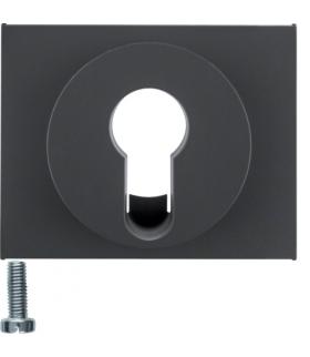 K.1 Płytka czołowa do łącznika na klucz, antracyt mat, lakierowany Berker 15057006