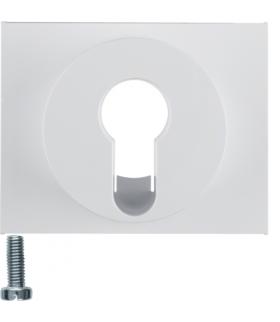K.1 Płytka czołowa do łącznika na klucz, biały Berker 15057009