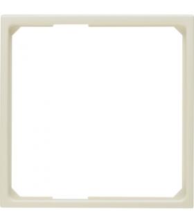 B.Kwadrat/S.1 Pierścień adaptacyjny do płytek czołowych 50x50mm, kremowy, połysk Berker 11099082